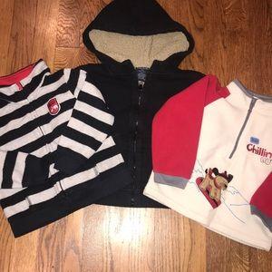 Boys Sweatshirt lot - 3 pieces!